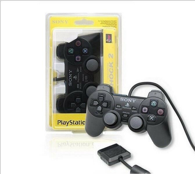 New OEM, Original Sony Wired DualShock 2 Joystick Controller for PlayStation PS2
