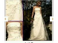 Ivory size 12 wedding dress