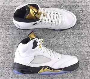 "Jordan 5 Gold Coin ""Olympic"" BNIB"