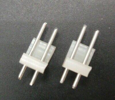 Molex 2-pin 3.91mm Round Pin Straight Header New 09-60-1021 Lot Of 25