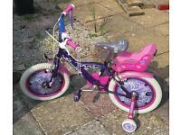 Smyths girls bike 16inch
