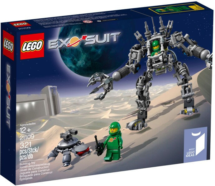 BRAND NEW Lego Ideas 21109 Exo Suit!!