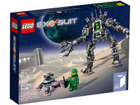 BRAND NEW DISCONTINUED Lego Ideas 21109 Exo Suit!!