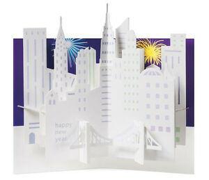 MOMA-Pop-Up-Card-Sabuda-Holiday-Greeting-Cards-Cityscape-Wreath-Tree-Set-of-8