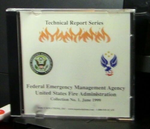 FEMA U S Fire Administration: Technical Report Series CD