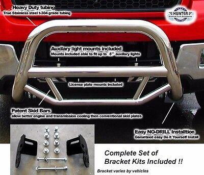 2009 - 2018 Ford F150 Super Bull Bar in Stainless Steel chrome push bar Ford F150 Bull Bar