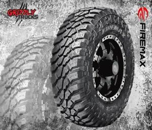 "FIREMAX MT STUDDABLE TIRES !!! 10 PLY - 33"" 35"" 37"" INSTALL OR SHIP ANYWHERE"