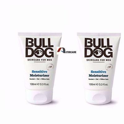 2X Bulldog moisturiser sensitive 100 ml