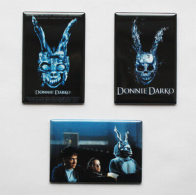 DONNIE DARKO - MOVIE POSTER MAGNETS (book toy print art frank the bunny - Donnie Darko Bunny