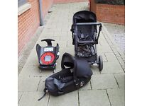 Jane Muum Travel System with Matrix Light car seat and isofix base ! (Pram/carrycot/car seat /base)