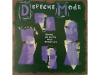 depeche mode 'songs of faith' album on vinyl