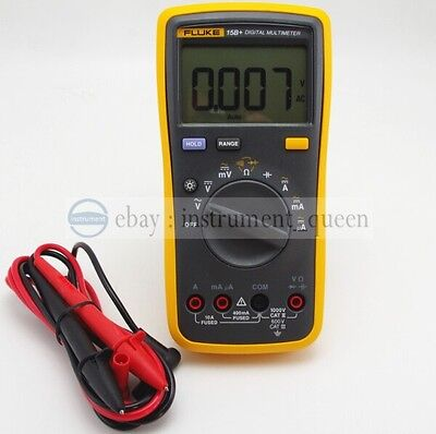 Fluke 15b Digital Multimeter Tester Dmm With Tl75 Test Leads