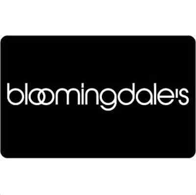 Bloomingdales Gift Card    25   50 Or  100   Fast Email Delivery
