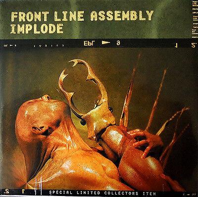 FRONT LINE ASSEMBLY Implode 2LP VINYL 1999 LTD.2000