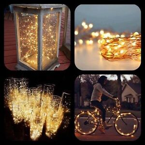 Copper Wire Fairy Lights Battery Operated 5m Toodyay Toodyay Area Preview