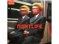 Pet Shop Boys NIGHTLIFE album on vinyl