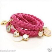 Multi-element Fashion Velvet Rope Bracelet