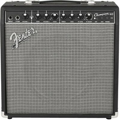 "Fender Champion 40 Watt 1x12"" Combo Electric Guitar Amplifier"