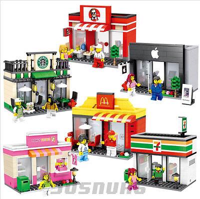 New Lego Compatible Retail Stores Building Kit Set Piece