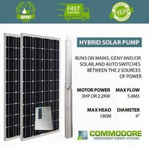 Hybrid Solar Pumps - Auto Switch to Solar, Generator or Mains Broken Hill Region Preview