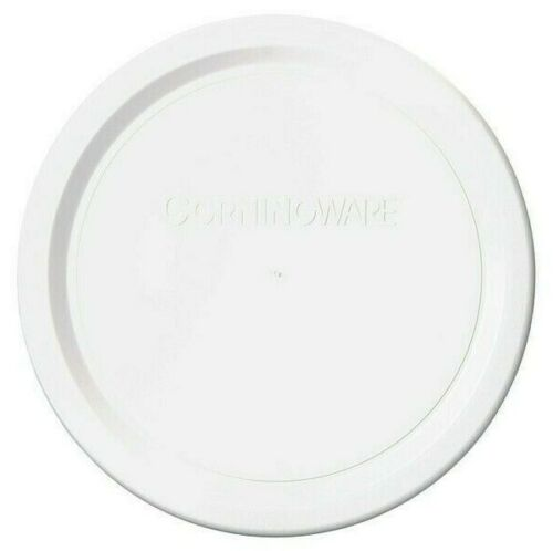 NEW  Round F-16-PC CORNING WARE French White PLASTIC LID STORAGE COVER