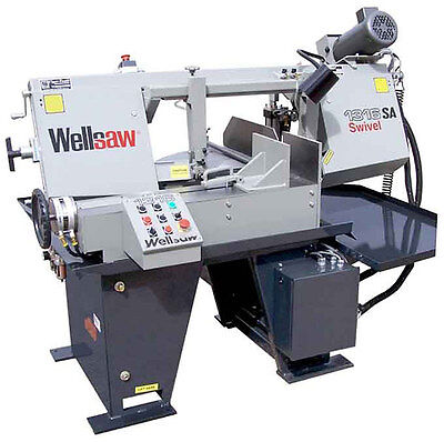 Wellsaw 1316s-sa 13 X 16 Semi-automatic Miter Saw Made In Usa Free Shipping