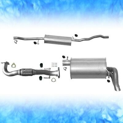Auspuff VW SHARAN 1.9 2.0 TDi 96 103 110 KW 2002-2010 Abgasanlage 0679