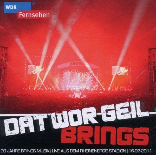 """BRINGS """"DAT WOR GEIL - 20 JAHRE BRINGS"""" 2 CD NEU"""