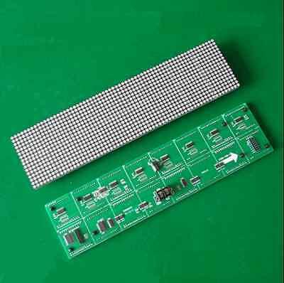 3.75 Unit Board 64 16 Dot Matrix Led Display Screen F3.75 Module 304 76mm
