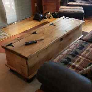 Custom Built - Rustic Pine, Chest Style, Coffee Table Peterborough Peterborough Area image 1