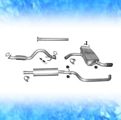 Skoda Yeti 1.2 TSi 77 KW 105 PS ab 2009 Auspuff Abgasanlage Komplett 0744