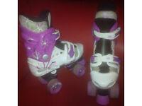 girls osprey quad skates for sale in liverpool