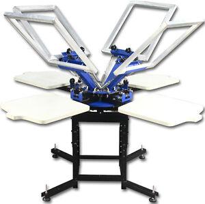 4 4 colors silk screen printing press machine printer t for Screen printing machine for t shirts for sale