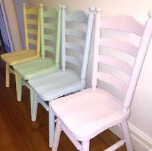 GORGEOUS CHAIRS - BUY ONE OR BUY THEM ALL Lilyfield Leichhardt Area Preview