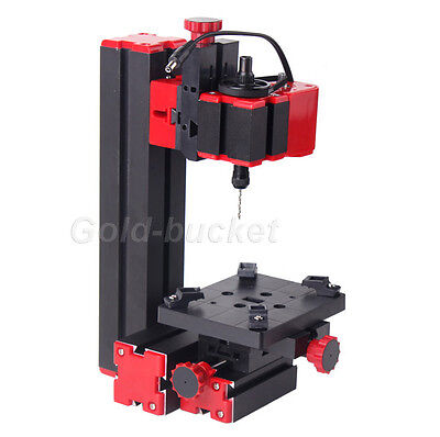 Mini Drilling Machine Lathe Woodworking Diy Tool Model Making For School Amateur