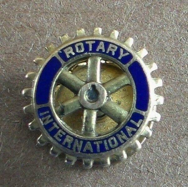 Vintage Rotary Club Lapel Pin 1/10 10k Gold Filled
