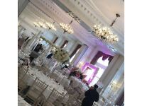 Chrivari Chairs Banqueting Tables and for hire, Covering Nationwide