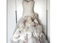 Ian Stuart Flowerbomb Wedding Dress