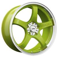 Roues (Mags) Candy Lime 18 pouces 5-114.3