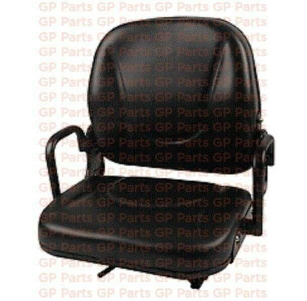 DAEWOO 130839, FORKLIFT SEAT ASSEMBLY WITH HIP RESTRAINTS