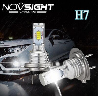 NOVSIGHT 160W 1800LM H7 LED Nebel Scheinwerfer Birnen Abblendlicht Licht