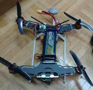 Ready to Fly Racing Quadcopter with FPV setup