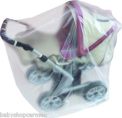Staubhülle Staubschutzhülle Abdeckung für Kinderwagen Wetterschutz sunnybaby