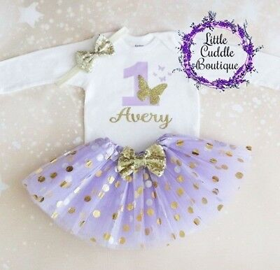 Personalized Butterfly First Birthday Outfit, Enchanted Outfit, Butterfly,