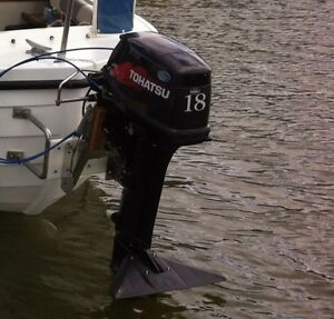 Tohatsu 2014 18HP Outboard (2 stroke) Stonyfell Burnside Area Preview