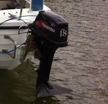 2014 Tohatsu 18HP Outboard (longshaft with forward controls) Stonyfell Burnside Area Preview