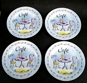 French Cafe Plate