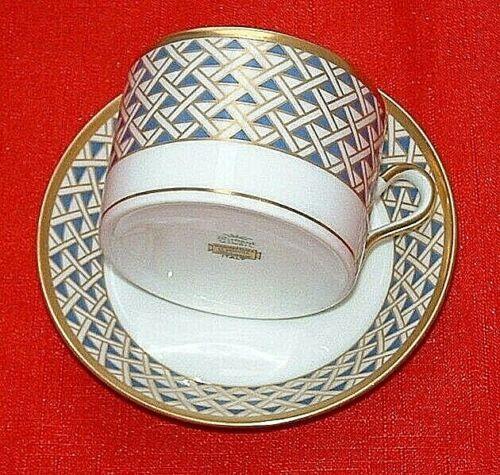 Richard Ginori Diamante Tea Cup & Saucer