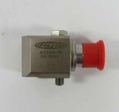 Ac208 - High Temperature Accelerometer Side Exit Connector Cable 100 Mvg
