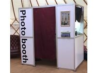 Photo booth hire - 5* rating, 80+ props, quality DSLR prints, USB stick, 4ft LOVE LIGHTS. Photobooth